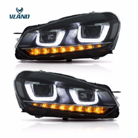 Vland Car Styling Headlight For Golf6/MK6 2010 2014 Led Head Lamp R20 LED Head Lamp DRL Turn Signal Light