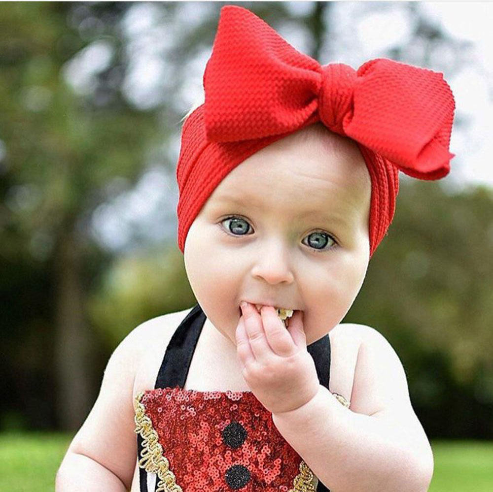 Bows on Nylon newborn bows girls bows Headwrap bows baby bows