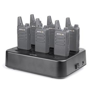 Image 3 - Retevis rtc22 carregador de seis vias para retevis rt22/rt22s/rb19 rádio em dois sentidos walkie talkie carregador para hotel/restaurante/supermercado