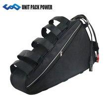 UPP 48 В 20AH 1800 Вт Электрический велосипед батарея 48 В 20AH Ebike треугольник батарея с бесплатной сумкой 50A BMS 54,6 в 2A зарядное устройство