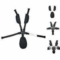 Yoya plus  Five-point safety belt Stroller accessories Original  accessory Universal seat belt  For Babyyoya Yoya plus Baobaolo