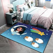 Childrens Carpet Full Bedroom Living Room Tea Table Footpad Cartoon Floor Bedside free shipping