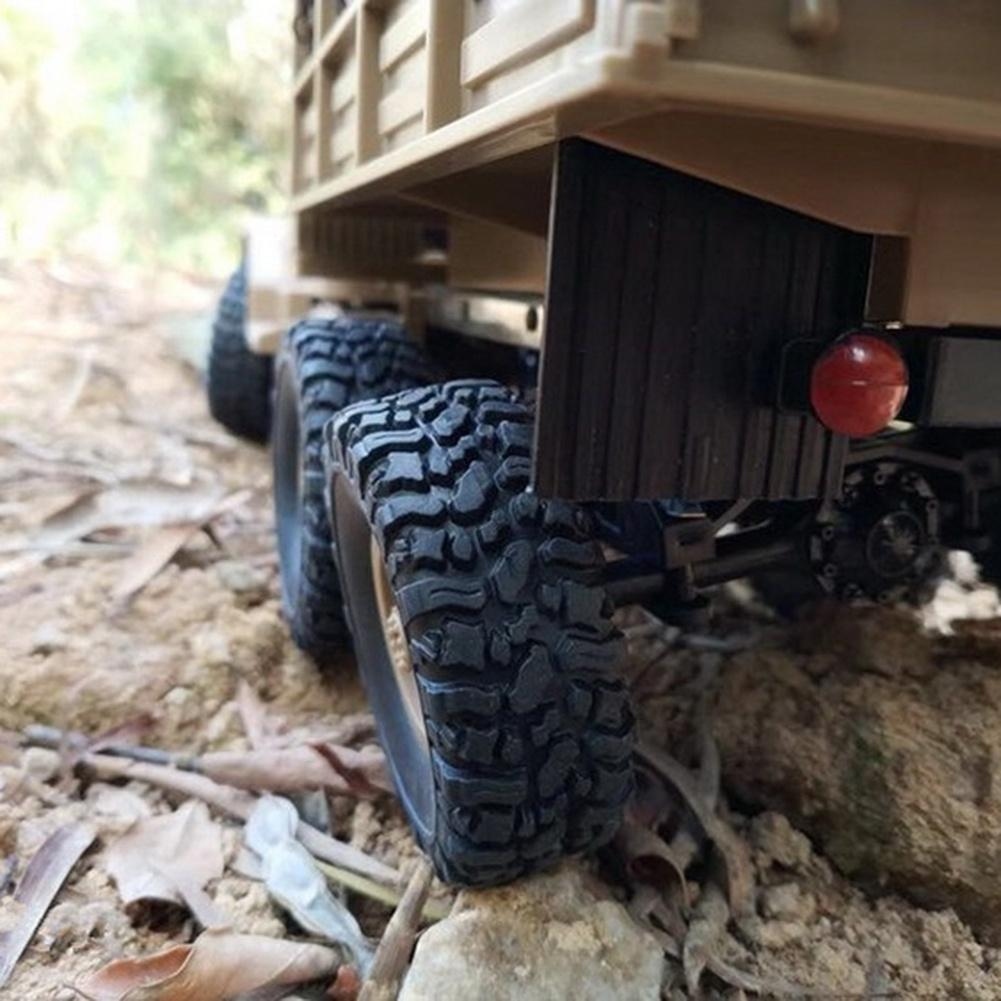 1/16 WPL 6WD Crawler Military Trunk B-16 Crawler Remote Control Car Model Toy night crawler