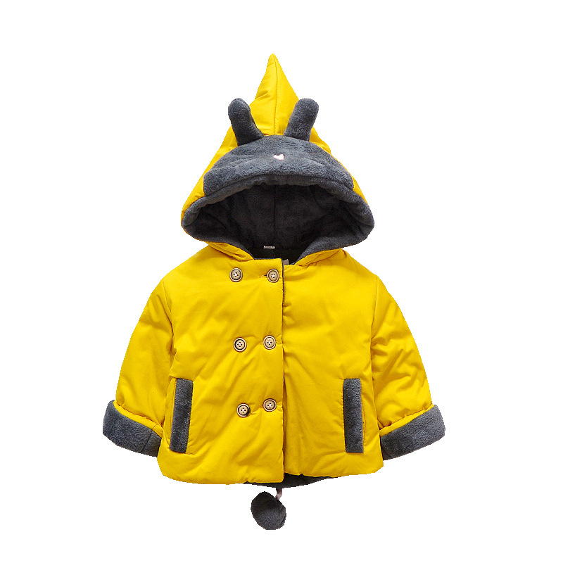 5da89b13464d New Baby Boys and girls Coats Hooded Unisex Winter Autumn 9M-2 old ...