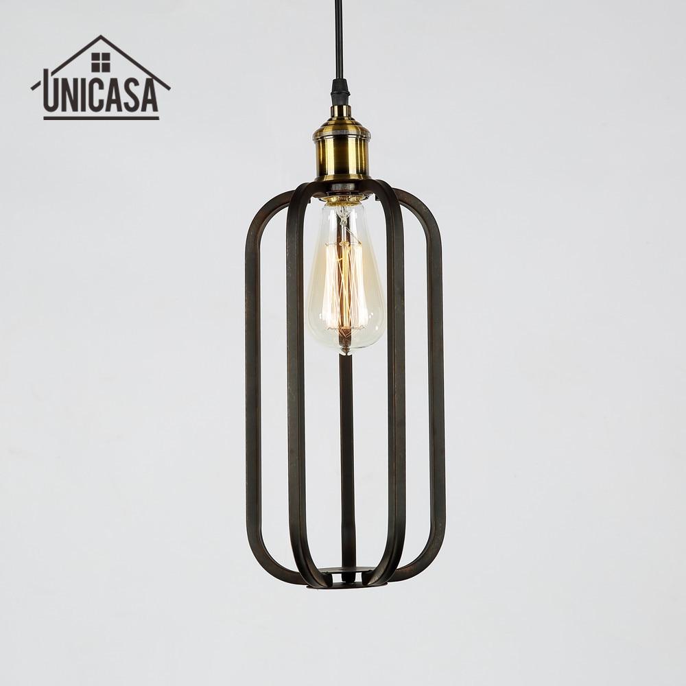Wrought iron kitchen lighting - Industrail Metal Pendant Lights Vintage Wrought Iron Lighting Hotel Office Bar Kitchen Island Antique Mini Pendant Ceiling Lamp