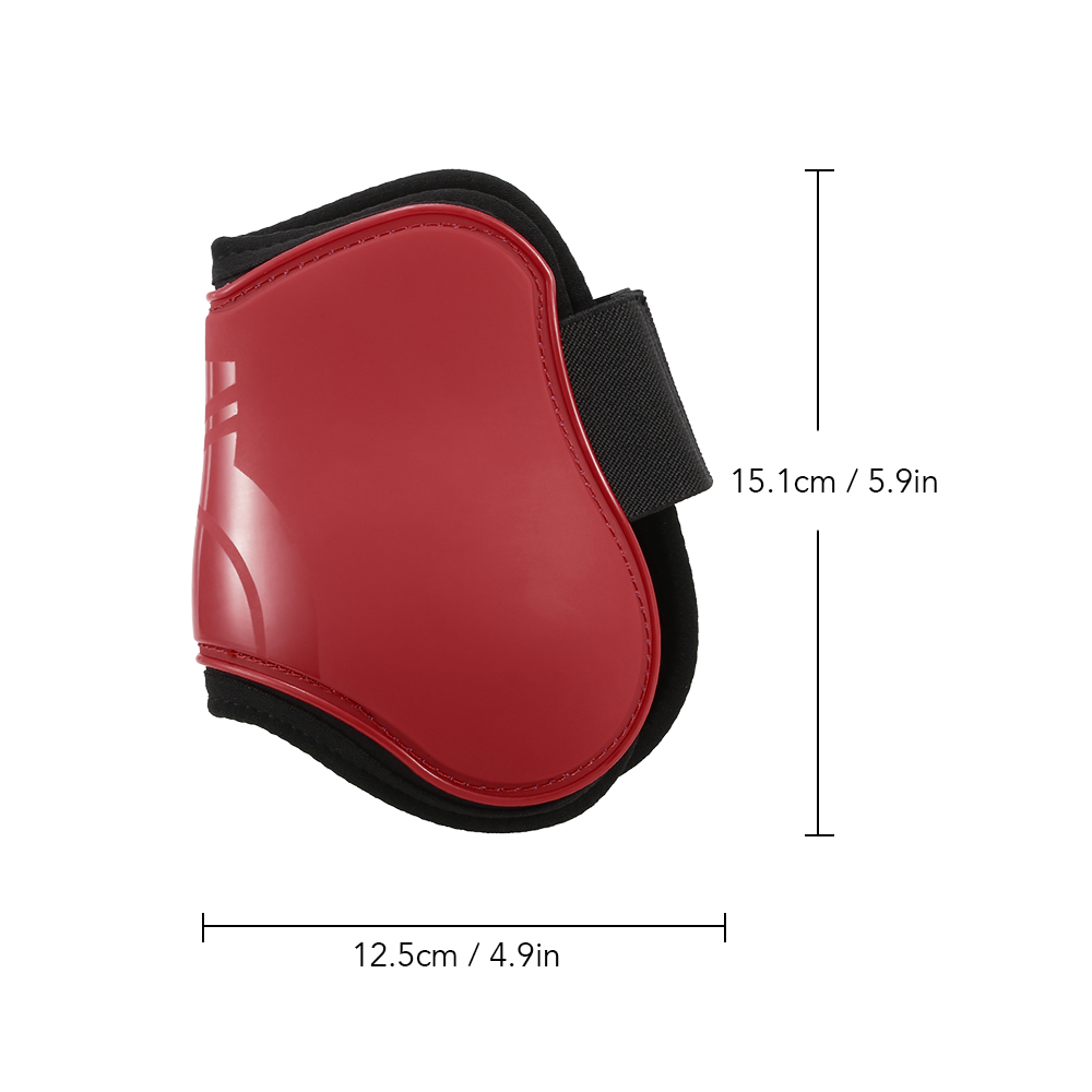 Image 4 - 2 PCS Horse Hind Boots Equine Leg Guard Horse Tendon Shin Protection Neoprene Horse Hock Brace-in Horse Care Products from Sports & Entertainment