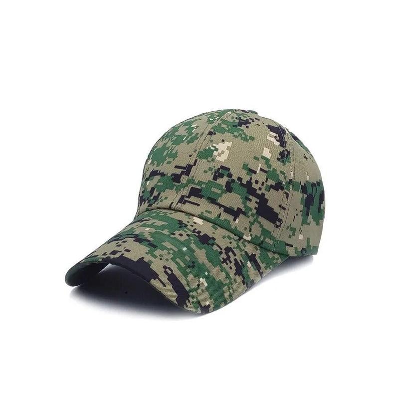 Охотничьи шапки Шапки для уличных видов спорта армейские мужские женские шапки специальные камуфляжные шапки бейсбольныей козырек шапки Распродажа - Цвет: Camo 6