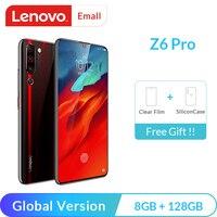 Lenovo Z6 Pro 8GB 128GB Global Version Snapdragon 855 Octa Core Mobile Phone  48MP Quad Cameras 4K Video Cellphone Lenovo Phones