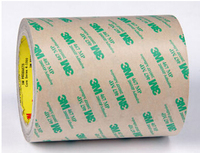 18mm 55M 0 13mm Thick 3M 468MP 200MP Adhesive Double Sided Sticky Bonding Tape High Temperature