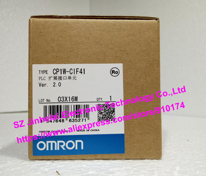 New and original  CP1W-CIF41  OMRON PLC Extension interface unit new and original e3x da11 s omron optical fiber amplifier photoelectric switch 12 24vdc
