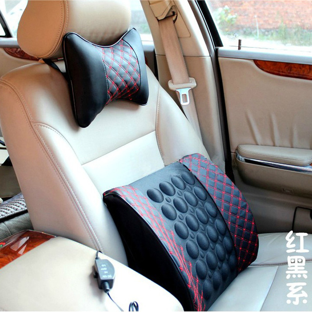 Four seasons general fashion brief health care waist support pad car electric massage back cushion car pillow