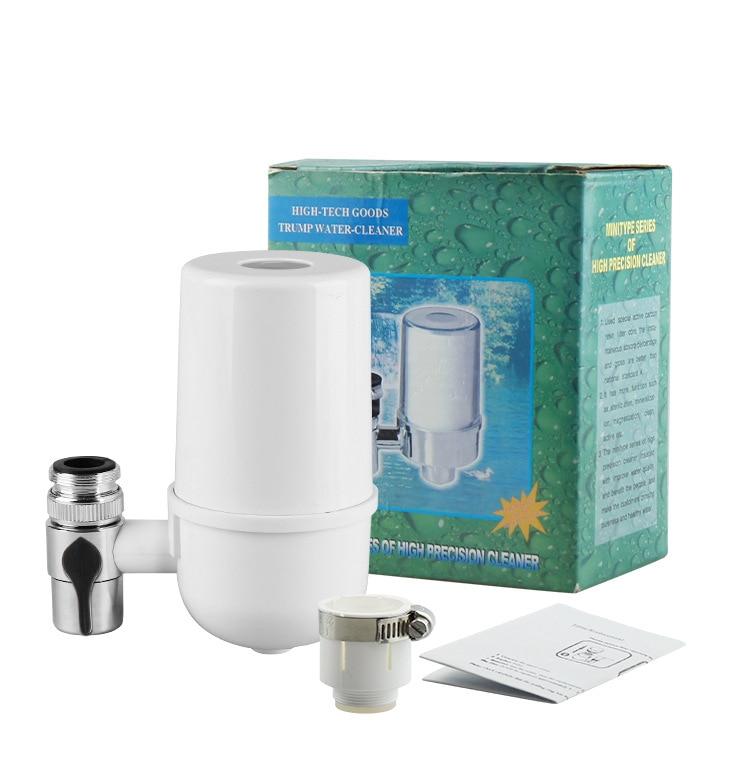 FreeshipTap очиститель воды/кран фильтр/кухня воды filterwith серебро переноска углерода в wippe от химических и вредных веществ