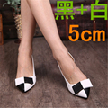 Spring autumn high thin heels pointed toe shoes small yards 31 32 33 plus size 40 41 42 43