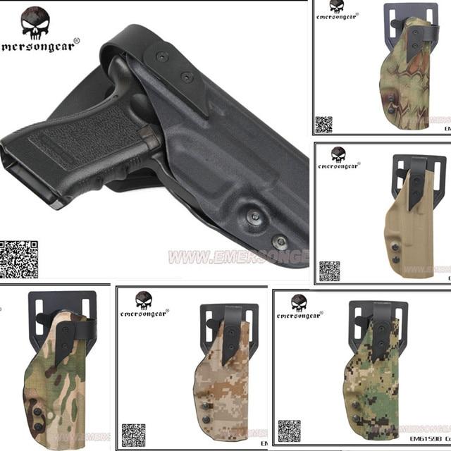 EMERSON tactique XST style Standard étuis pistolet palette & ceinture étui DE remplacement pour GLOCK noir DE MC AOR1 MR AOR2 AT/FG