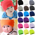 2017 Winter Autumn Spring Cotton Baby Hat Girl Boy Toddler Infant Kids Caps Brand Candy Color Lovely Baby Beanies Accessories