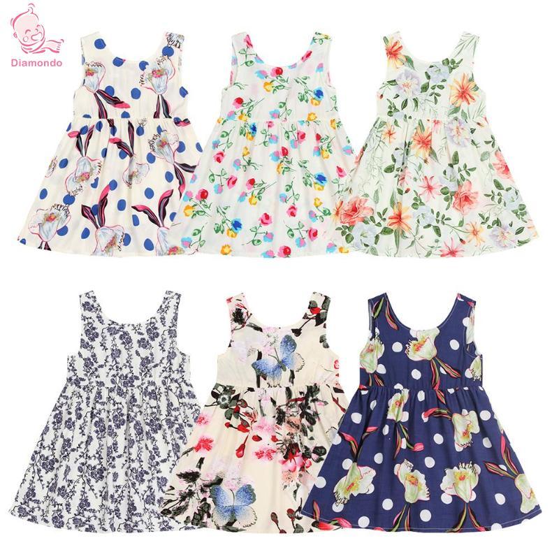 27a9c79d15d2 Sladké holčička oblečení Dívky Šaty Děti Květinové Butterfly Retro ...