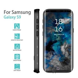 Image 4 - Funda impermeable para Samsung Galaxy S8 Plus /S9, funda trasera a prueba de golpes totalmente sellada para Samsung Galaxy s10 S8 note 10 9 Plus sleev