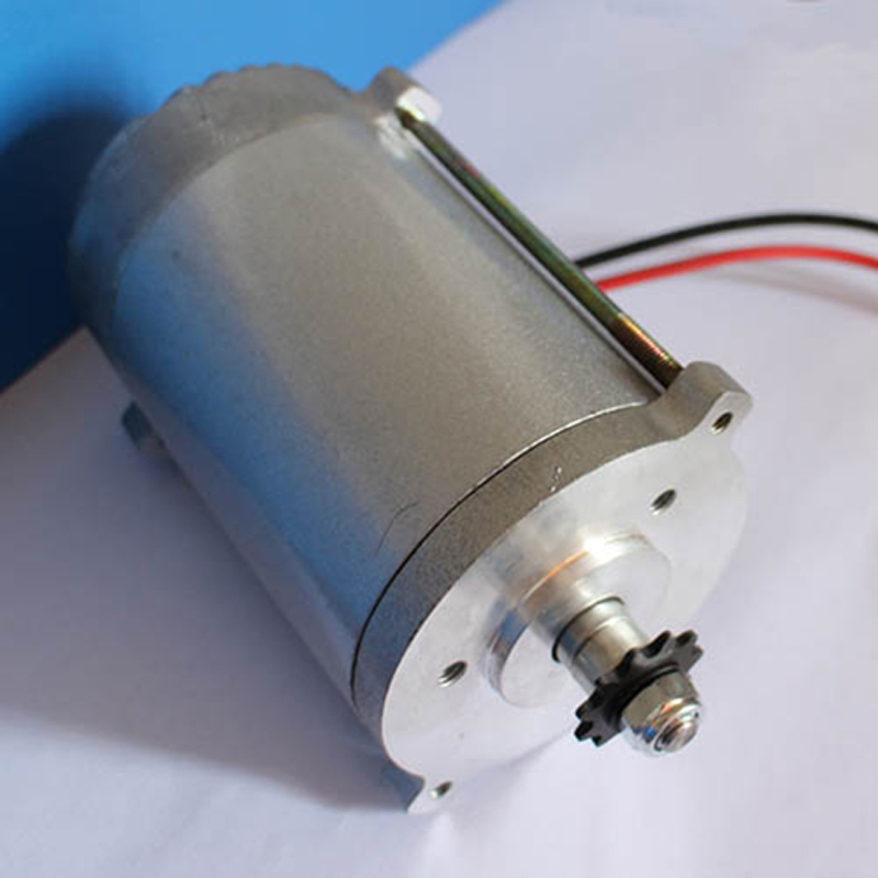 High torque DC motor 36V 350W 3300RPM permanent magnet NdFeB Used at electric car Pedal generator  цены