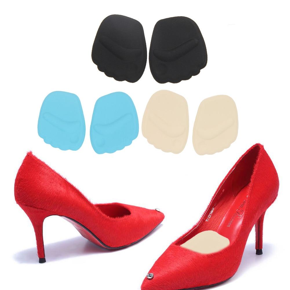 Силиконовый гель носком колодки стопы Обувь Подушки Для женщин высокий каблук стельки ...
