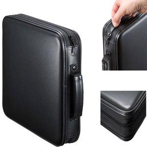 Image 3 - Ymjywl بلو راي صندوق القرص عالية الجودة CD حالة 160 أقراص سعة CD/DVD حقيبة التخزين للسيارة السفر CD صندوق تخزين