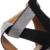 Sexy com Tira No Tornozelo Saltos Altos Extremas 17 cm Preto de Camurça Saltos de Strass Mulheres Sandálias de Verão Mulher Sapatos de Plataforma de Salto Fino