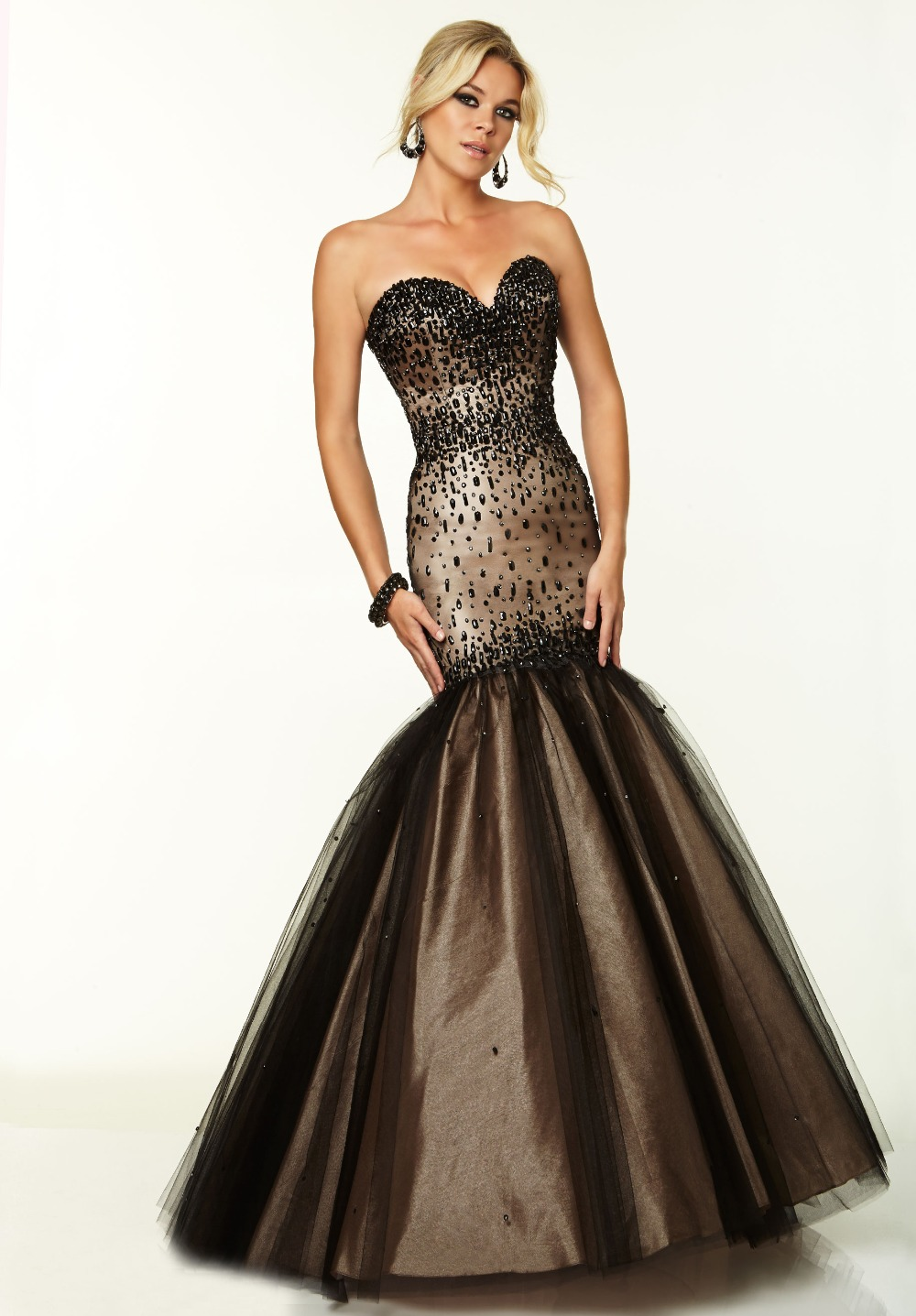 Compare Prices on Black Mermaid Prom Dress- Online Shopping/Buy ...