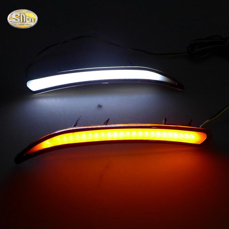 SNCN LED denní svícení pro Opel Insignia 2010 2011 2012 2013 2014 2015 Regal GS Mlhovka ABS 12V DRL