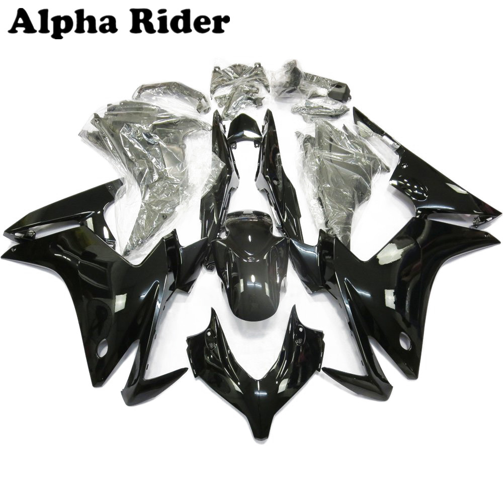Bodywork Fairings High Quality ABS Injection Molding Gloss Black for Honda CBR500R CBR 500 CBR500 2013 2014 2015 14-15 13 New hot sales bodykits for honda cbr500r fairings 2013 2014 cbr 500 r 13 14 cbr500 rr abs motorcycle fairing injection molding