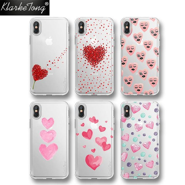 coque iphone 8 plus heart