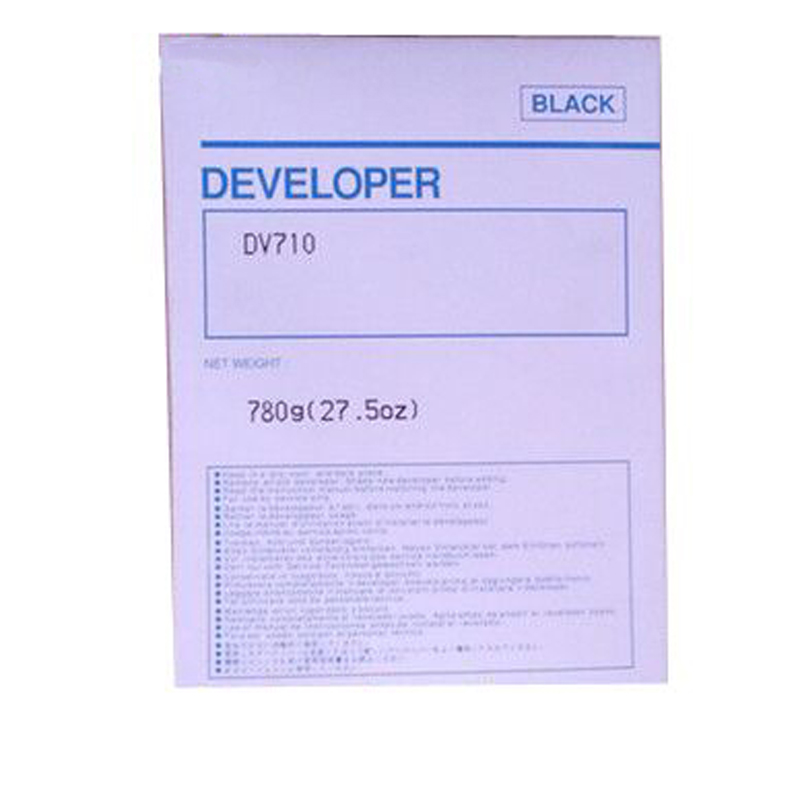 vilaxh DV710 Compatible Developer For Konica Minolta <font><b>Bizhub</b></font> BH 750 751 <font><b>600</b></font> 601 920 7145 Copier Parts image