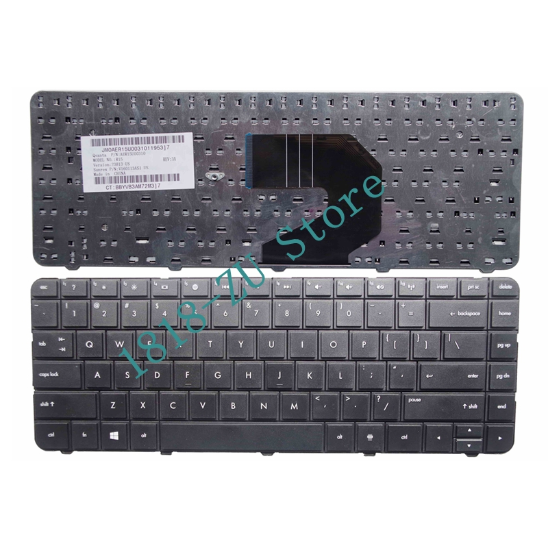 YALUZU English US Black Keyboard For HP Pavilion G6-1000ev G6-1028sg G6-1000sd G6-1028tx