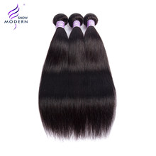 Cambodian Straight Hair Bundles Human Hair Weave 1 / 3 / 4 Bundle Deal 10-28 inch Modern Show Natural Human Hair Extensions Remy(China)