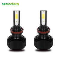 YHKOMS Car Headlight H11 H4 LED H1 H3 H8 H9 H13 880 881 H27 D1S D2S