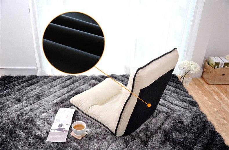 Online Shop Ledersessel Moderne Boden Kaffee Farbe Wohnzimmer Comfy Lounge Sessel Mode Freizeit Tatami Stock Bett