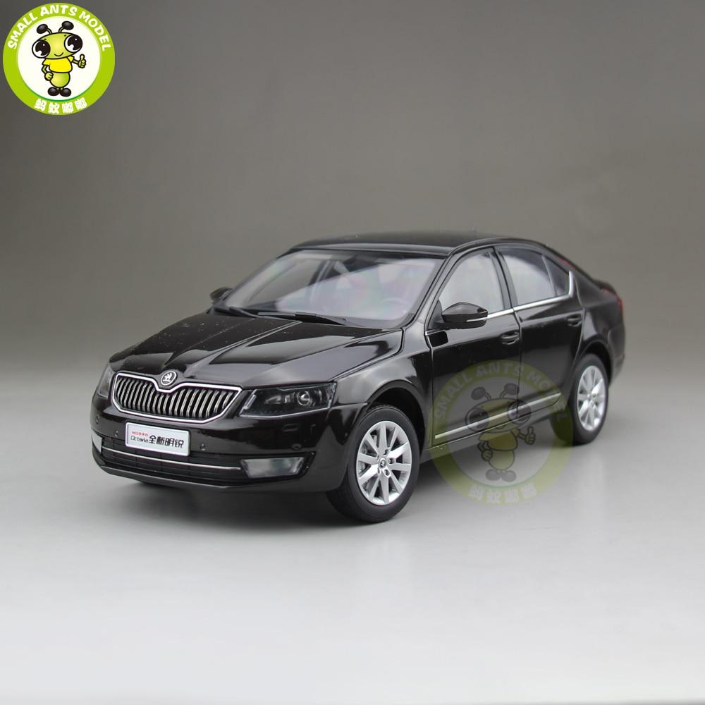 1 18 VW Skoda Octavia 2014 Diecast Metal CAR MODEL Toy Boy Girl gift Brown