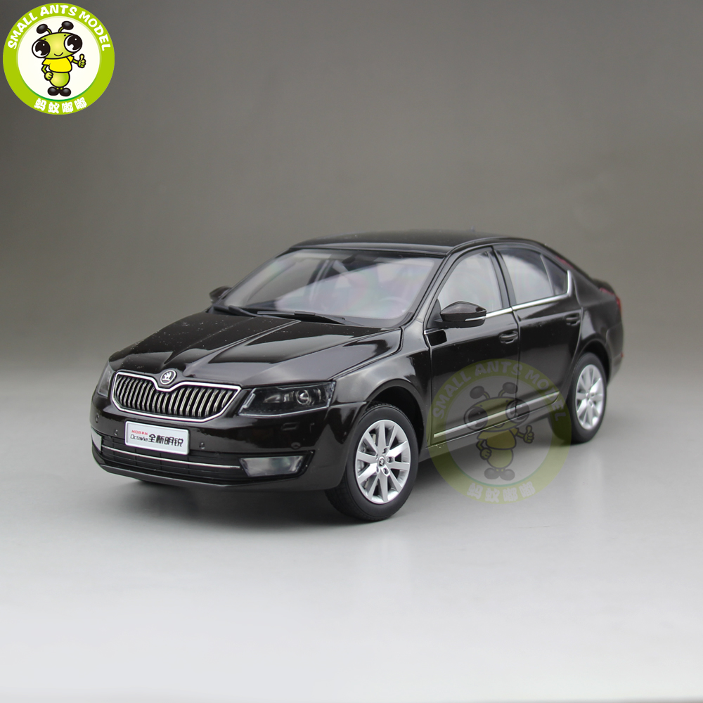 1/18 VW Volkswagen Skoda Octavia 2014 Diecast Metal CAR MODEL Toy Boy Girl gift Brown