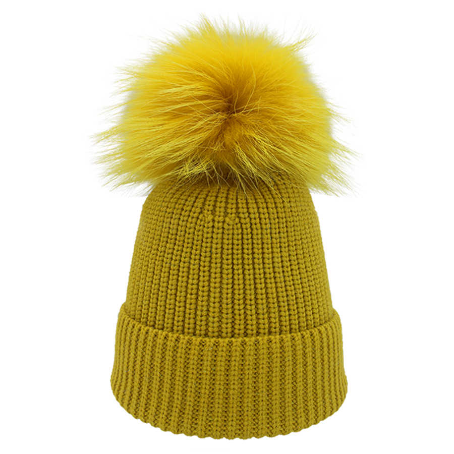 dc3c0ea55f086 ... New Bling Beanies Women Hat Real Fur Spell color Pompom Knitted Silver  Wire Metallica Skullies Beanie ...