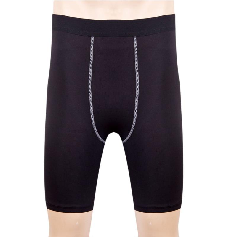 Quick Dry Mens Compression Tights Male Shorts Elastic font b Bodybuilding b font Crossfit Sweat Shorts