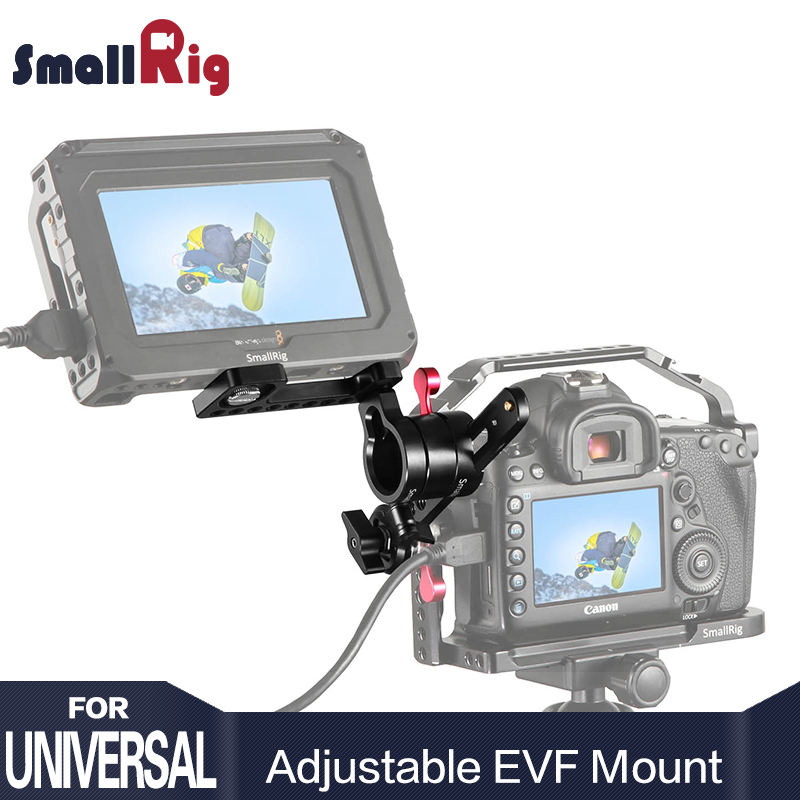 SmallRig DSLR Camera Rig Adjustable EVF Mount with ARRI Rosette Quick Release For Monitor Viewfinder Support