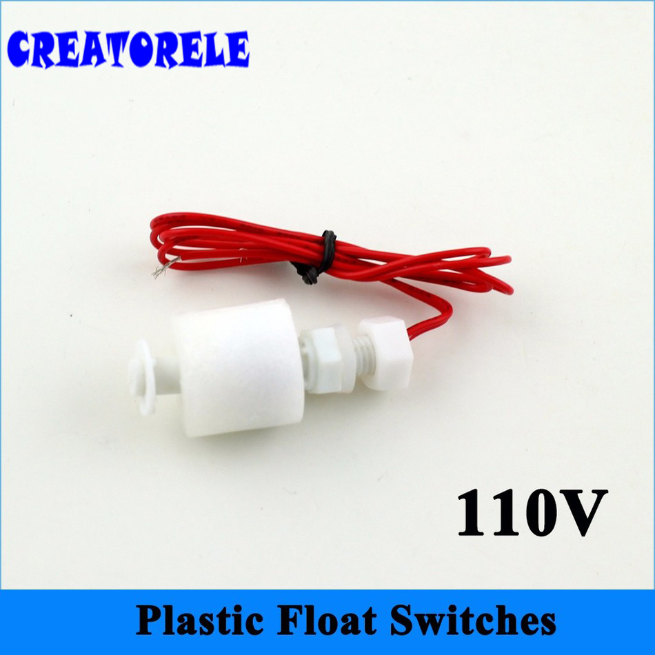 110V PFS4008 Top Quality Water Level Switch Tank Pool Water Level Liquid Sensor Float Switch New Hot Selling