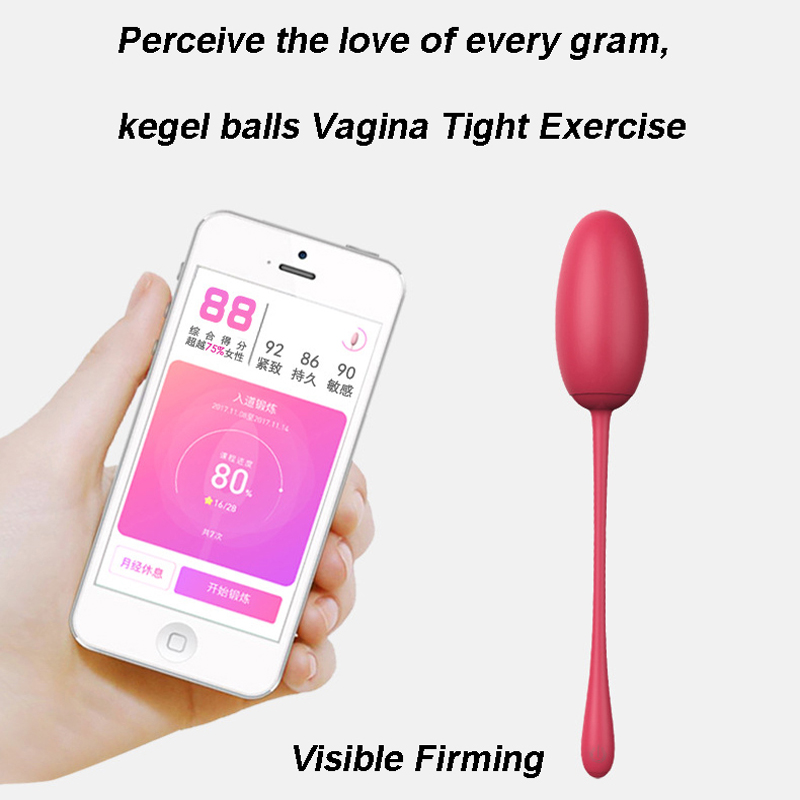 Libo Remote Control App Vibrator Sex Toy for Couple Vibrating Egg Stimulator kegel balls Sex products G Spot vibrator for women g spot sex products wireless vibrator for couple 100 meter remote control massager vibrator sex toy for woman adult silicone
