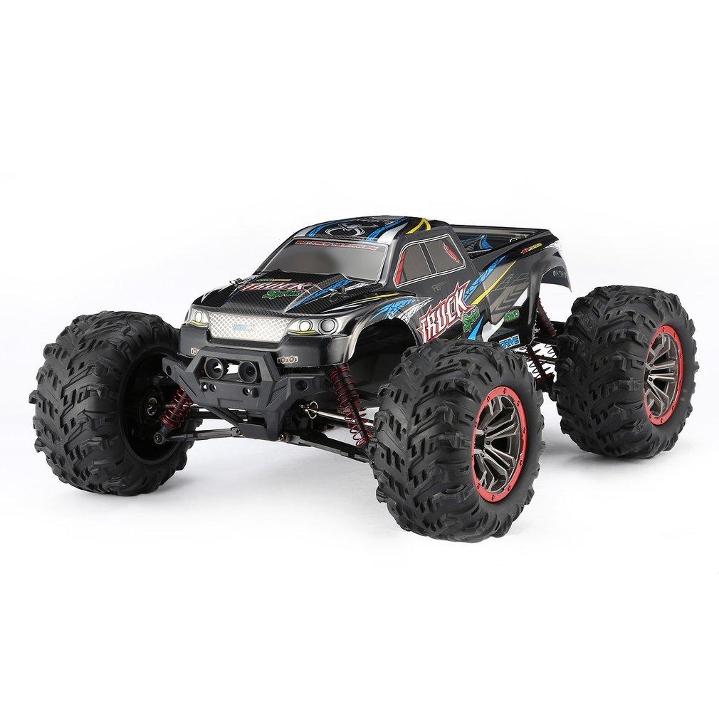 Высокое качество 9125 4WD 1/10 RC гоночный автомобиль с высокой скоростью 46 км/ч Электрический сверхзвуковой грузовик внедорожник багги игрушки РТР - 4