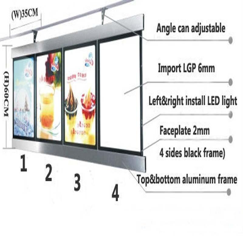 LED Restaurant Menu box