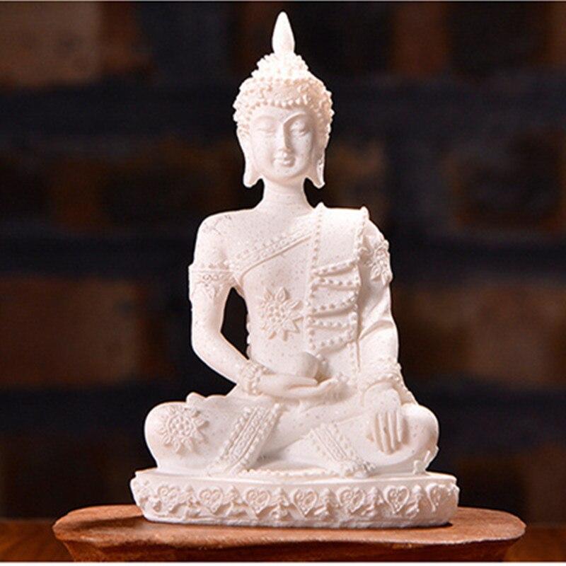 Home Decoration Accessories Buddha Figure Sandstone Buddha Statue Garden Statues Sculptures Buddhism Statues For Decoration