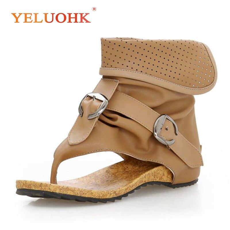Soft Leather Sandals Women Comfortable 2018 Summer Shoes Female Fashion Women Sandals Flat discount 2018 fashion leather casual flat shoes women sandals summer shoes flat hollow comfortable breathable size 34 44