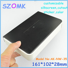 10pcs a lot szomk net work plastic enclosure diy plastic box housing for electronics abs instrument case 161x102x28 mm