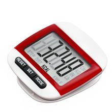 Premium LCD Digital Step Pedometer Walking Calorie Counter Distance Run Belt Clip New Gifts