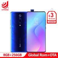 Rom officielle globale Xiaomi Redmi K20 Pro 8 GB 256 GB Smartphone Snapdragon 855 Octa Core 4000 mAh caméra frontale Pop-up caméra 48MP