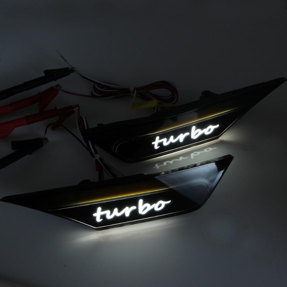 Lampe de course clignotant LED pour 2016 2017 2018 2019 Honda Civic - 3