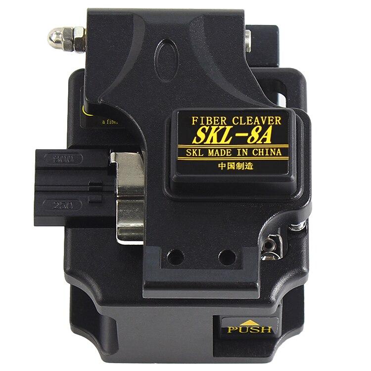 SKL-8A High Precision Optical Fiber Cleaver Fiber Optic Cutter Hot Melt Fiber Cleaver